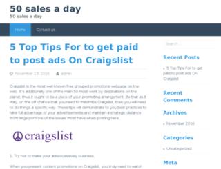 50salesaday.com screenshot