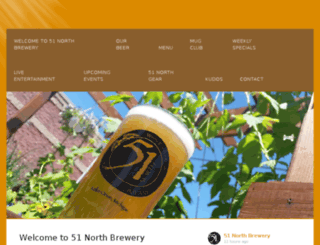 51northbrewing.com screenshot
