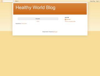 520healthyworld.blogspot.tw screenshot