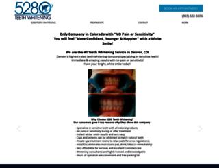 5280teethwhitening.com screenshot