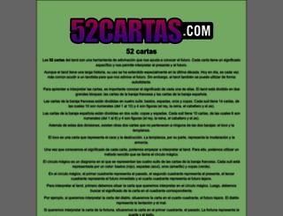 52cartas.com screenshot