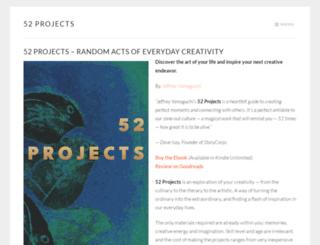 52projects.com screenshot