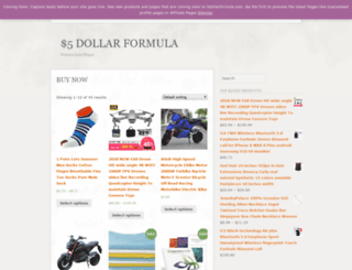 5dollarformula.com screenshot