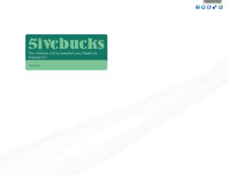 5ivebucks.com screenshot