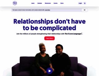 5lovelanguages.com screenshot