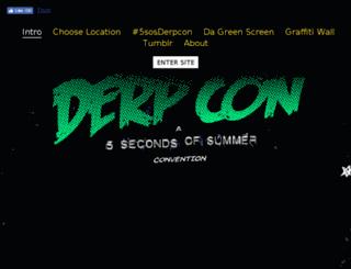 5sosderpcon.com screenshot