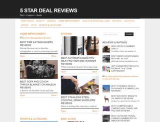 5stardealreviews.com screenshot