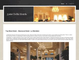 5stardelhihotels.yolasite.com screenshot