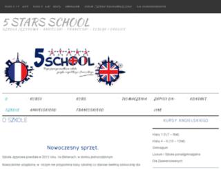 5stars-school.pl screenshot
