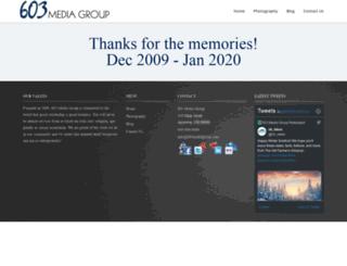 603mediagroup.com screenshot