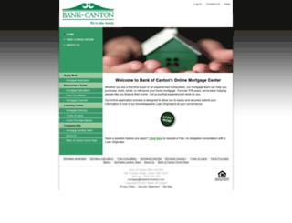 6190081540.mortgage-application.net screenshot
