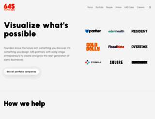 645ventures.com screenshot