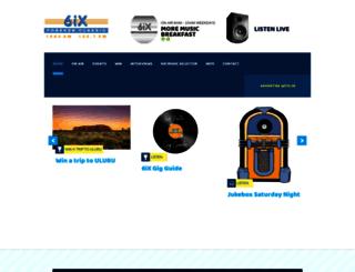 6ix.com.au screenshot