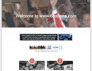 6nations.com screenshot
