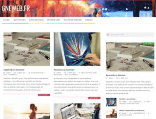 6neweb.fr screenshot