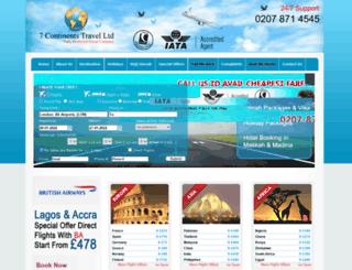 7-continentstravel.co.uk screenshot