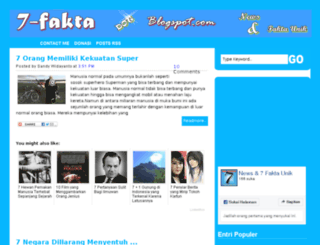 7-fakta.blogspot.com screenshot