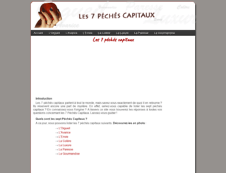 7-peches-capitaux.fr screenshot