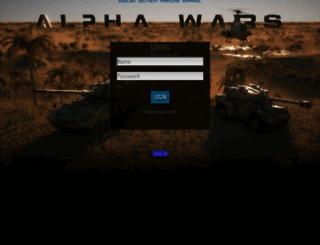 7.alphawars.com screenshot