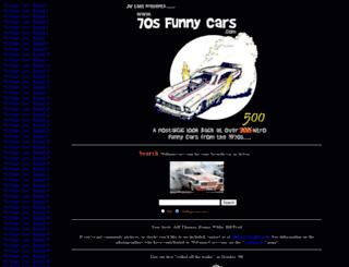 70sfunnycars.com screenshot