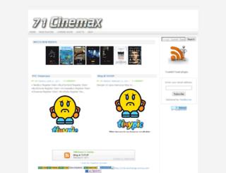 71cinemax.blogspot.com screenshot