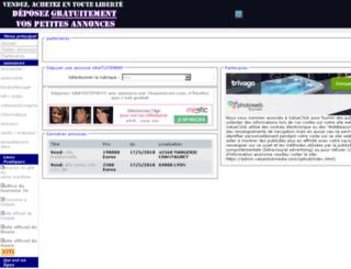 76annonces.com screenshot