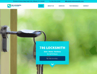 786locksmith.com screenshot