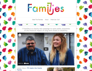 7families.co.uk screenshot