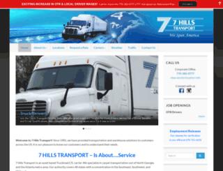 7hillstransport.com screenshot