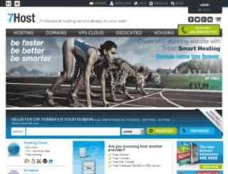 7host.com screenshot