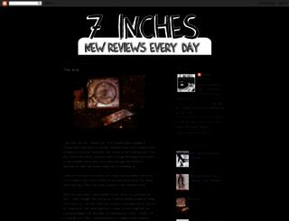 7inches.blogspot.it screenshot