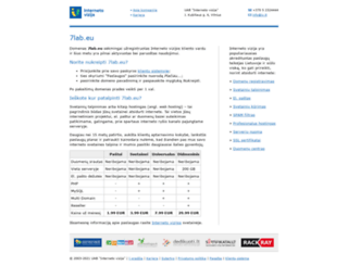 7lab.eu screenshot