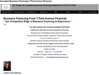 7parkavenuefinancial.com screenshot