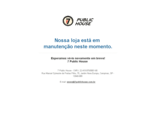 7publichouse.com.br screenshot