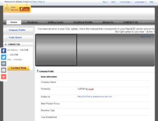 7uzp34yg.aliplatinumscript.com screenshot