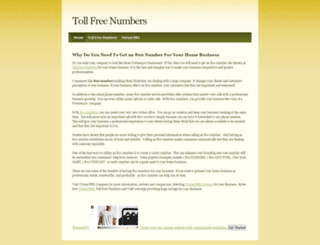 800number.weebly.com screenshot