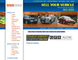 800sold.co.tt screenshot