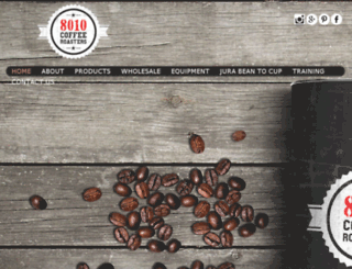 8010coffeeroasters.com screenshot
