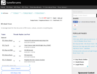 80s.tuneforums.com screenshot