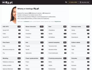 83.pl screenshot