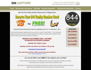 844capture.com screenshot