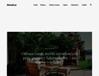 84studio.pl screenshot
