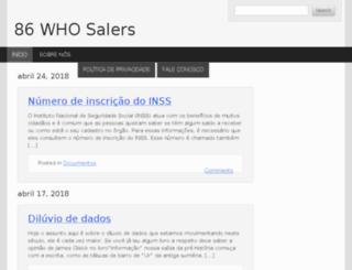 86whosalers.com screenshot
