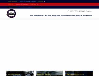 88844ferry.com screenshot