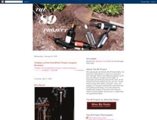 89project.blogspot.com screenshot
