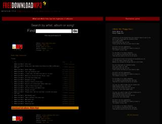 8ball-and-mjg.freedownloadmp3.net screenshot
