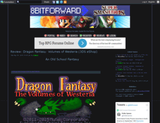 8bitforward.forumotion.com screenshot