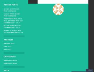 8minecraft.wordpress.com screenshot
