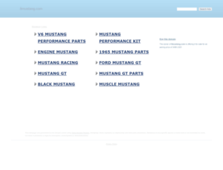 8mustang.com screenshot