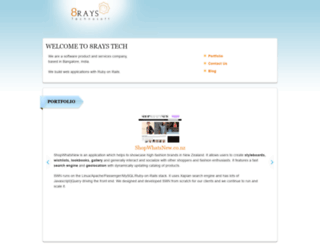 8raystech.com screenshot